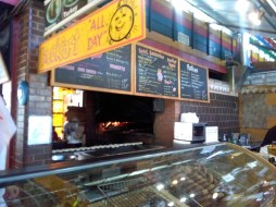 The bagel shop. That woodfire smelled sooo goooood.