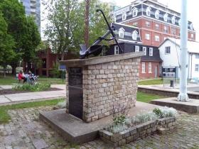 Navy Memorial Park monument #1