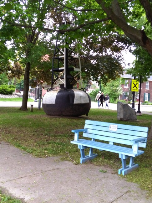 Navy Memorial Park monument #2